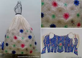 this recycled dress is made of 180 plastic bottles photos huffpost