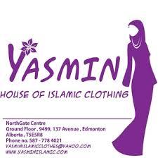 Yasmin Floor L Yasmin Islamic Clothes S Clothing 9499 137 Ave Edmonton
