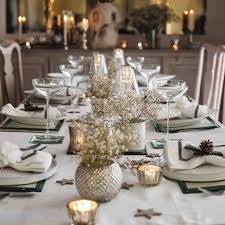 christmas decorating home tree design with round table decorations home table white and gold