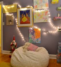 Hanging String Lights From Ceiling by Christmas Decoration Ideas To Make Lights Bedroom Wowicunet How