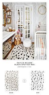 Caitlin Wilson by Caitlin Wilson Black Spotted Rug Copycatchic