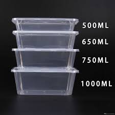 Lunch Storage Containers For Adults 2018 Brand New 800ml Meal Containers Clear Disposable Lunch Box