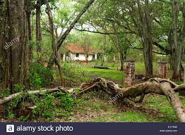 old bungalow in belgaum at karnataka india asia stock photo