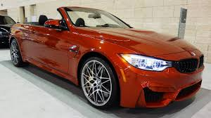 red bmw m4 2017 bmw m4 convertible car review interior exterior showcase