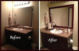 frame bathroom wall mirror stick on frames for bathroom mirrors bathrooms within frames for