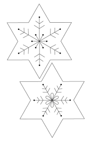 decorations felt snowflake garland