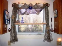 Fishing Shower Curtain I Hung A Decorative Fishing Net With Wooden Fish And Real Starfish