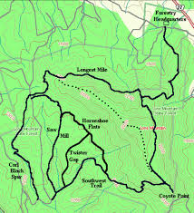 Stratton Mountain Map Hiking The Historical East November 2015