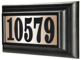 lighted house numbers and letters most decorative lighted house