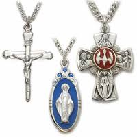 catholic necklaces cross necklaces gold crosses religious jewelry