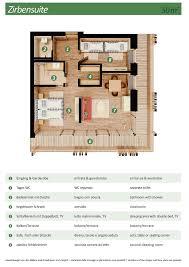 Mit Floor Plans by Zirben Suite 50 M Berghotel
