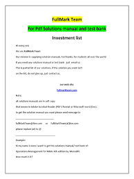 investments solution manual test bank portable document format