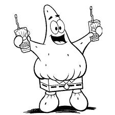 spongebob coloring sheets for free download