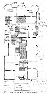 Castle Howard Floor Plan by H H Holmes Herman Webster Mudgett And The Murder Castle The