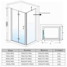 900 Bifold Shower Door by Offers