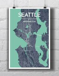 Maps Seattle by Seattle City Map City Maps