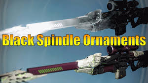 destiny new black spindle ornaments new taken ornament for the