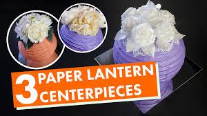 lantern centerpieces 3 paper lantern centerpieces balsacircle
