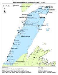 Newfoundland Map Municipalities Newfoundland And Labrador Regional Maps Exploring
