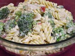 chicken pasta salad quick and easy garden chicken pasta salad recipe genius kitchen
