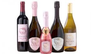 cartoon wine bottle hello kitty wine is now a thing and here u0027s where to find it