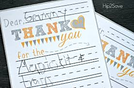 free printable thank you cards u2013 hip2save