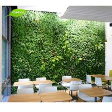 gnw glw016 vertical garden green wall fake plastic plants walls