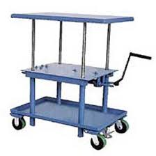 work positioning lift tables spring positioners for material at