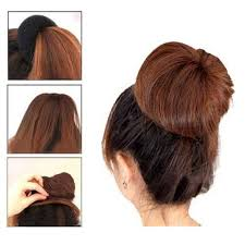 donut bun hair ilulu 3 pieces hair donut bun maker size large medium