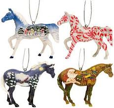 trail of the painted ponies 2008 ornament set