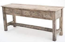 narrow buffet table kobe table