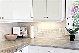 Kitchen Backsplash Materials Kitchen Stacked Rock Backsplash Seashell Kitchen Backsplash