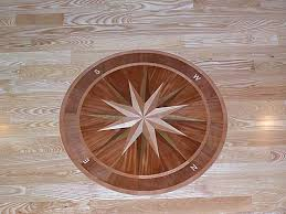 all about wood floor inlays borders medallions and parquet