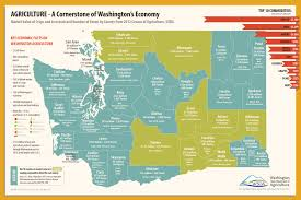 Map Of Counties In Washington State by Agriculture U0027s Contribution To Washington U0027s Economy Washington