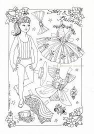 44 paper dolls kids images coloring
