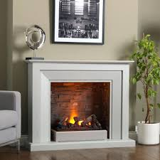 recessed electric fireplace no heat amazon napoleon linear wall