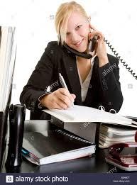 assistant de bureau assistant de bureau téléphone au travail de bureau business