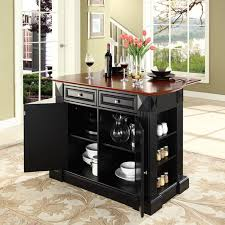 Hayneedle Kitchen Island Crosley Furniture Drop Leaf Breakfast Bar Top Kitchen Island