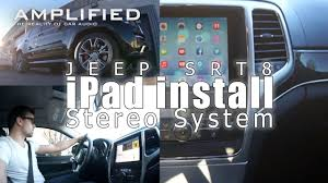 jeep grand sound system stereo system jeep grand srt8 phase two finale