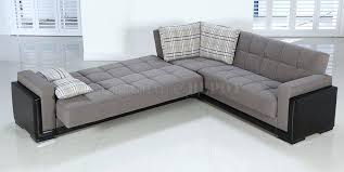 Gus Modern Sleeper Sofa Terrific Modern Convertible Sofa Medium Gray Deluxe Modern Sleeper