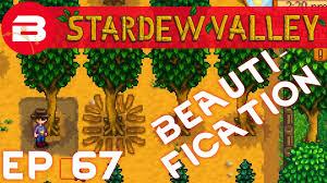 fruit tree garden layout stardew valley