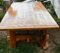 barnwood tables for sale custom made rustic barnwood furniture plank dining table custom