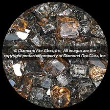 Fire Pit Glass by Copper Canyon Premixed Diamond Fire Pit Glass 1 Lb Crystal Package