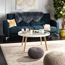 safavieh rue round coffee table fox8207a home depot