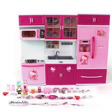 cuisine fille jouet et lumière bébé puzzle jouets en plastique enfants de jouer
