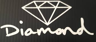 diamond supply co amazon com diamond supply co sticker automotive