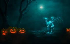 minecraft halloween background skeleton wallpapers wallpapersafari