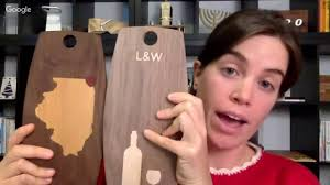 easel live inlay cutting boards youtube