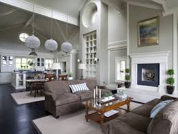 Wall Morris Design New England Style House Ireland - Family room dublin