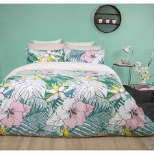 mode tropical quilt cover set multicoloured king reg 17 99 new